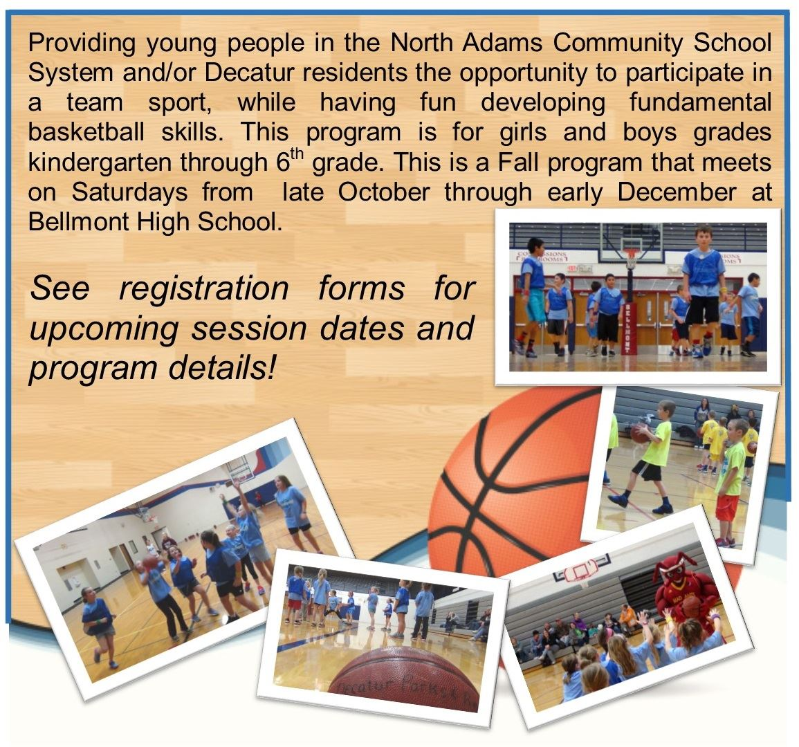 Youth Basketball Website