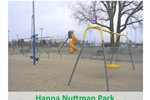 A playground with sand and yellow play equipment